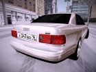 Audi A8 for GTA San Andreas rear-left view