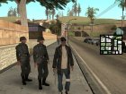 Gangsta Homeless для GTA San Andreas вид слева