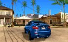 BMW X6M for GTA San Andreas rear-left view