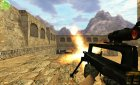 Urban Warfare Series Famas для Counter-Strike 1.6 вид слева