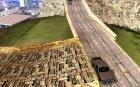 Новые дороги в Вайнвуде for GTA San Andreas rear-left view