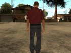 LVPD Officer without uniform для GTA San Andreas вид сбоку