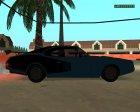 Clover Barracuda для GTA San Andreas вид сзади слева