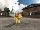 Braeburn (My Little Pony) для GTA San Andreas вид изнутри