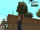 Бита с логотипом Rockstar Games для GTA San Andreas вид сверху
