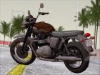 Motorcycle Triumph from Metal Gear Solid V The Phantom Pain for GTA San Andreas rear-left view