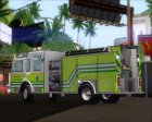 Pierce Arrow XT Miami Dade Fire Department Engine 45 для GTA San Andreas вид изнутри