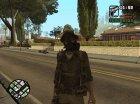 Пак скинов на военную тему для GTA San Andreas вид сзади