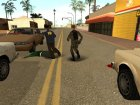 Разборки v.2 for GTA San Andreas rear-left view