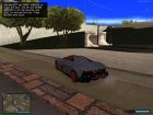 Lamborghini Egoista для GTA San Andreas вид сбоку