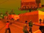 PS2 Graphics 'Orange Atmosphare для GTA San Andreas вид сзади слева