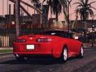 Toyota Supra Cabrio for GTA San Andreas top view