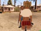 Вызвать проститутку for GTA San Andreas left view