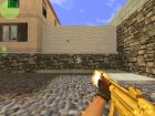 Gold MP-5 для Counter-Strike 1.6 вид слева
