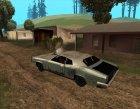 Постапокалиптический Buccaneer для GTA San Andreas вид сверху