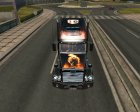 Freightliner Coronado для Euro Truck Simulator 2 вид слева