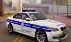 BMW M5 - Croatian Police Car для GTA San Andreas вид слева