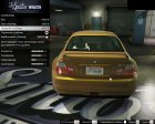 BMW M3 E46 for GTA 5 rear-left view