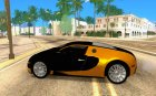 Bugatti Veyron taxi beta for GTA San Andreas left view
