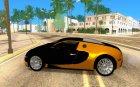 Bugatti Veyron taxi beta для GTA San Andreas вид слева