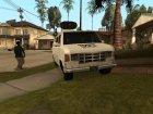 Newsvan mod или возможность из бета версии игры for GTA San Andreas rear-left view