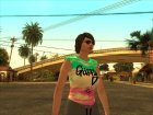 GTA V Online DLC Female 1 for GTA San Andreas top view