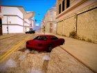 GTA V to SA: Realistic Handling для GTA San Andreas вид сзади слева