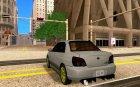 Subaru Impreza WRX STI for GTA San Andreas rear-left view