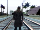 (Watch Dogs) Aiden Pearce for GTA San Andreas side view