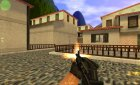 M4 on X rock X anims для Counter-Strike 1.6 вид слева