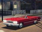 1963 Chevrolet Impala SS для GTA San Andreas вид изнутри