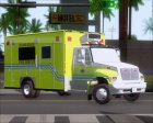 Pierce Commercial Miami Dade Fire Rescue 12 for GTA San Andreas left view