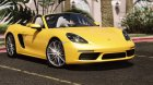 Porsche 718 Boxster S for GTA 5 left view