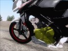 Yamaha Vixion Advance Lominous White для GTA San Andreas вид сбоку