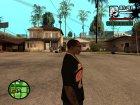 "Футболка с знаком зодиака ""Близнецы"" for GTA San Andreas rear-left view"