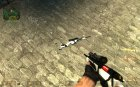Winter camo scout for Counter-Strike Source top view