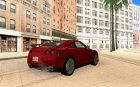 Nissan GT-R for GTA San Andreas top view