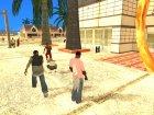 Пак наркоманского оружия by Babayka для GTA San Andreas вид сзади слева