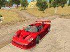 Новые спортивные автомобили для GTA San Andreas вид сверху