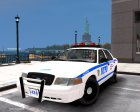 """NYPD-ESU K9"" 2010 Ford Crown Victoria Police Interceptor для GTA 4 вид сзади"
