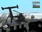 AH-6 Little Bird для GTA San Andreas вид сзади слева