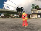Big Macintosh (My Little Pony) for GTA San Andreas left view