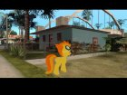 Spitfire (My Little Pony) для GTA San Andreas вид изнутри