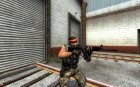 M4A1 Improved для Counter-Strike Source вид сверху