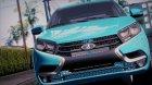 Lada X Ray для GTA San Andreas вид сверху