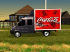 ГАЗель 33023 Coca-Cola for GTA San Andreas left view