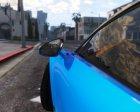 2017 Bugatti Chiron (Retextured) 3.0 for GTA 5 rear-left view