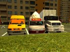 Пак грузовиков для GTA San Andreas вид изнутри