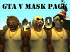 Pak masks GTA V