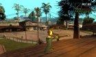Инопланетный огнемёт for GTA San Andreas top view